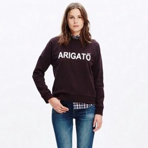Madewell Arigato Pull Over Sweatshirt c9811